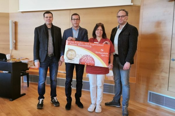 Heiligenfeld GmbH spendet 2.000 Euro