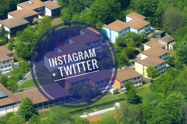 Instagram und Twitter